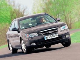 Hyundai Sonata 2.4 Executive - komfort w dobrej cenie (z archiwum Auto Świata)