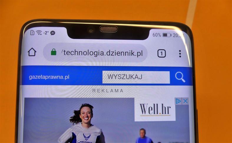 Huawei Mate 20 Pro - notch