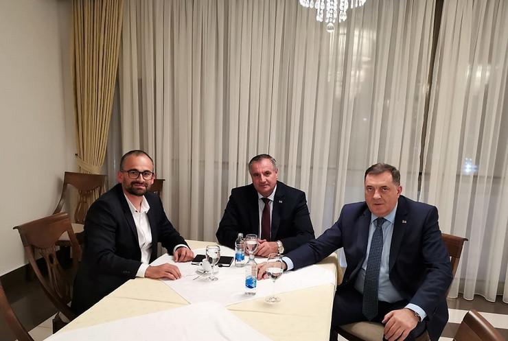 Dodik, Višković i Ljevnaić