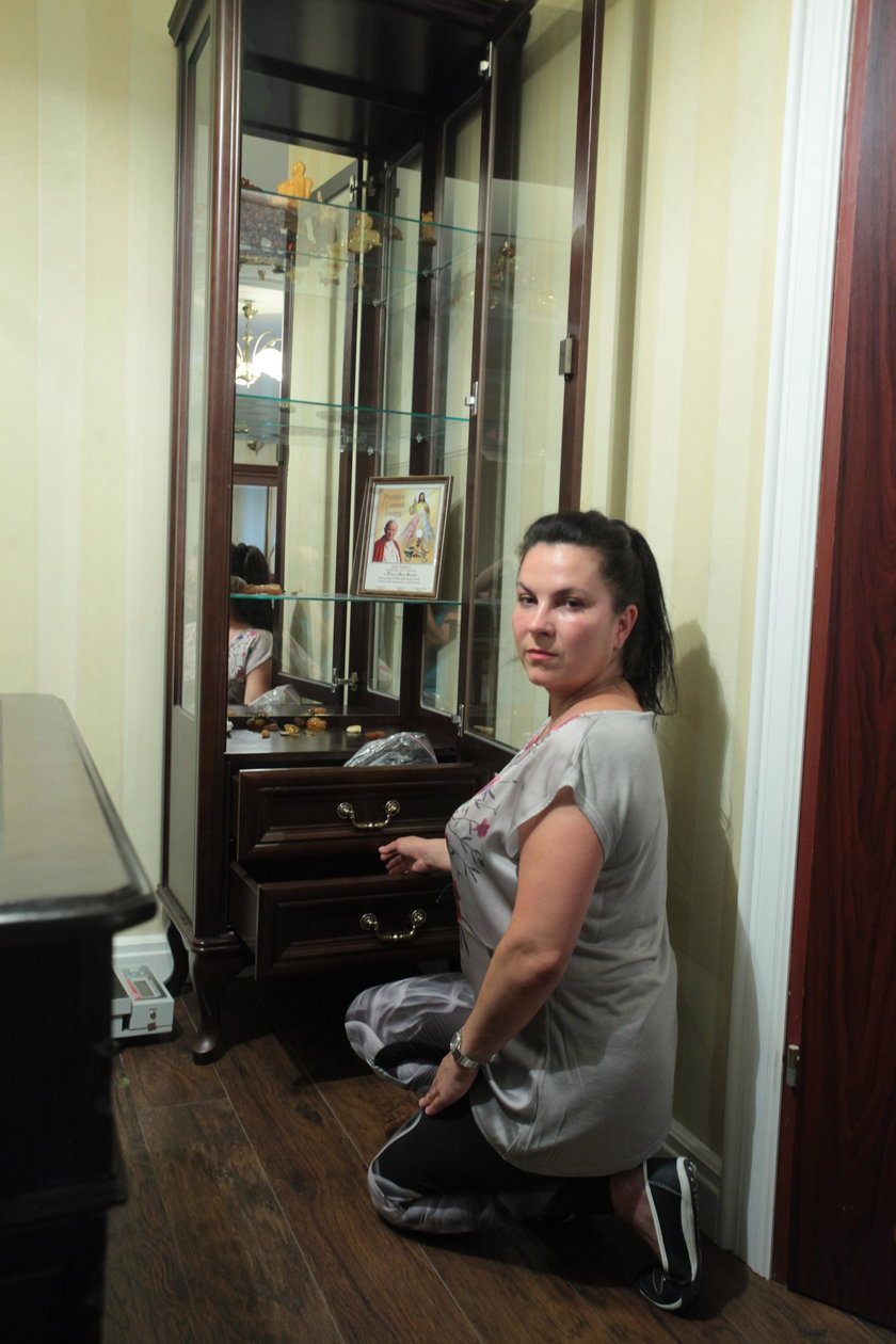 41-letnia Larisa Trelewicz - żona porwanego przedsiębiorcy