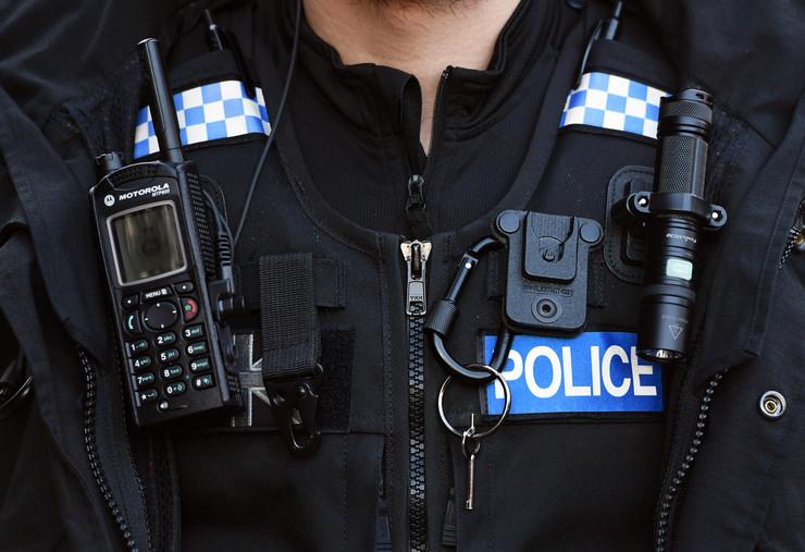 Policija Škotska Edinburg EPA FACUNDO ARRIZABALAGA