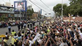 Papież przybył do Paragwaju