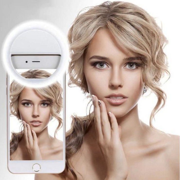 lampa za slikanje selfija