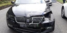 Prezes TVP Jacek Kurski miał wypadek! Po zderzeniu uciekł do lasu