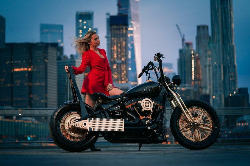Niezwykły motocykl