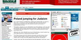Gazeta w USA: Polska przerzuca się na judaizm