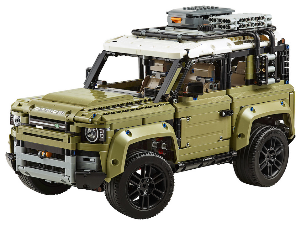 Land Rover Defender z… Lego