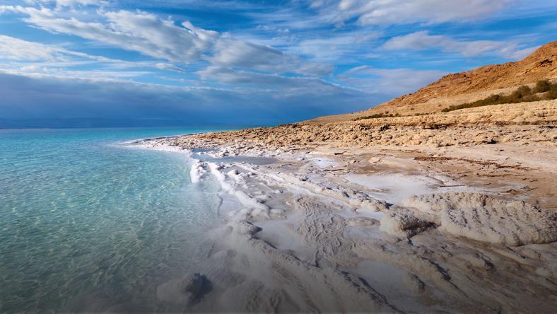 Morze Martwe to największe słone jezioro na świecie