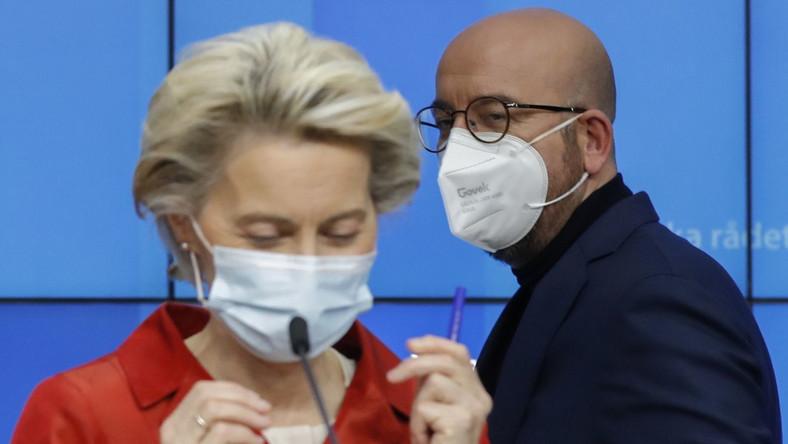 Ursula von der Leyen i Charles Michel
