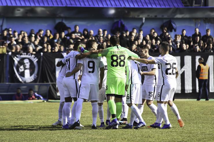 FK Bačka, FK Partizan