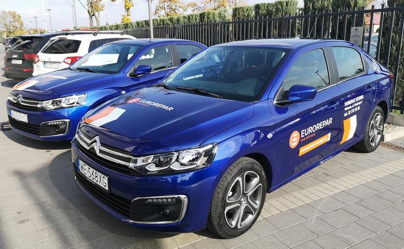 Warsztaty Eurorepar Car Service oferują też samochody zastępcze na czas naprawy