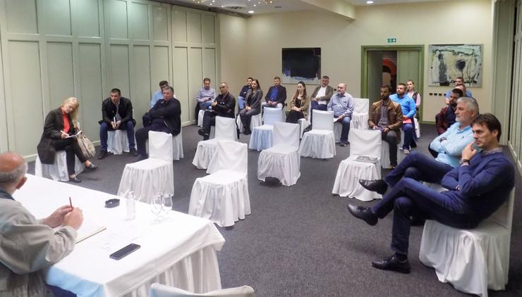 Detalj sa sastanka OSS u Nišu