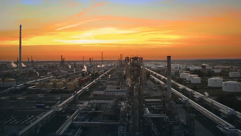 Rafineria Orlenu w Płocku, fot. PKN Orlen