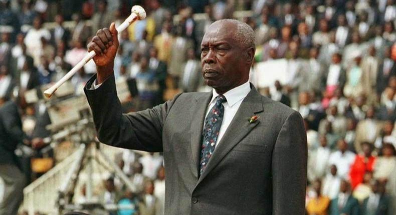 Mzee Moi's rungu handed to son