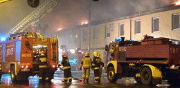 Pożar w Ozorkowie. Dom w ogniu. Lokatorzy zdążyli uciec