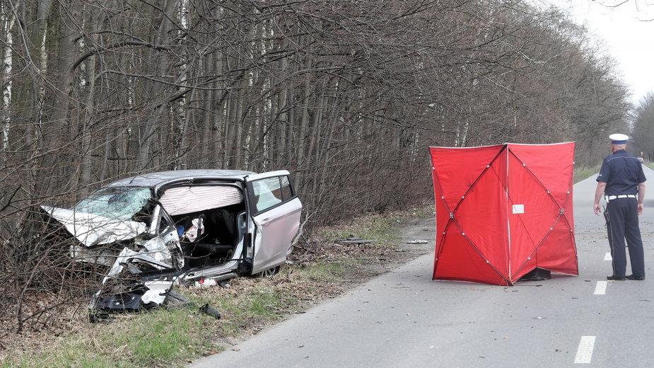 Śmiertelny wypadek w Łodzi, 20 kwietnia 2021