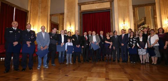 Dobitnici priznanja u Starom dvoru