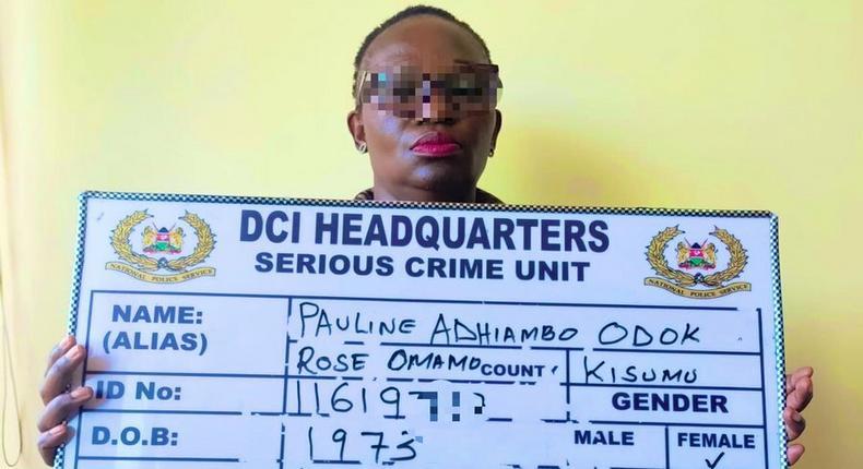 DCI arrest suspect Pauline Adhiambo on conspiracy to defraud