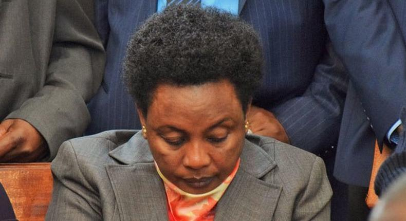 Deputy Chief Justice Philomena Mwilu