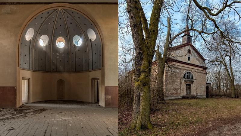 Opuszczony kościół ewangelicki, Stare Pażuchy