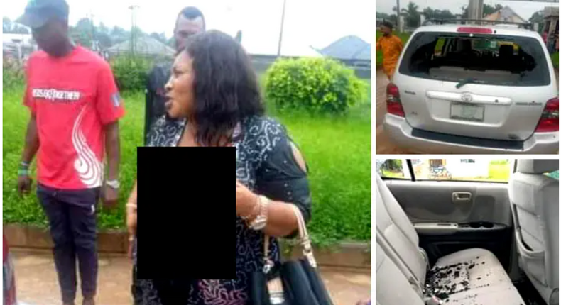 Mrs. Cynthia Nwala was beaten to a pulp in Rivers (Vanguard)