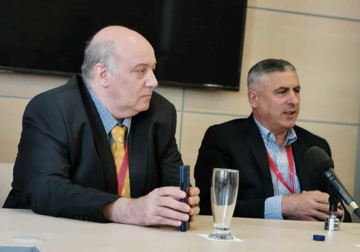 Dr Andrija Bogdanovic i dr Miodrag Vucic