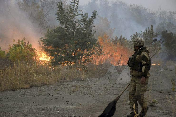 Ukrajina poža