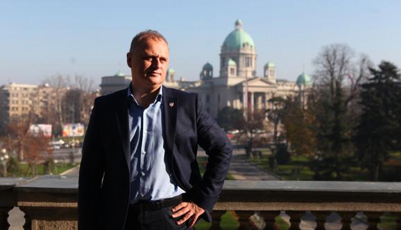 Gradski menadžer Goran Vesić