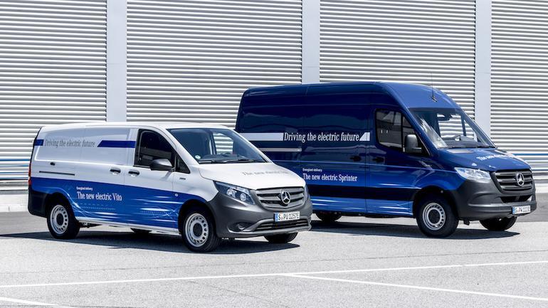 Elektryczne Mercedesy Vito i Sprinter w Polsce od 2019 r.