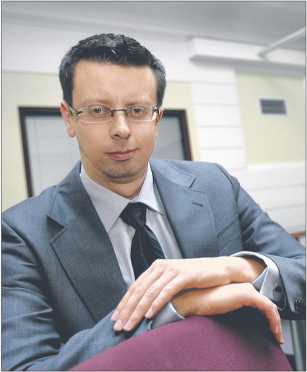 Marcin Chałupka, specjalizuje się w prawie i instytucjach szkolnictwa wyższego, w latach 2007 – 2009 ekspert Państwowej Komisji Akredytacyjnej Fot. Wojciech Górski
