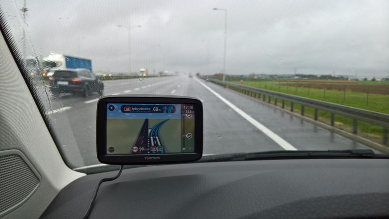 TomTom Start 52 na autostradzie A4