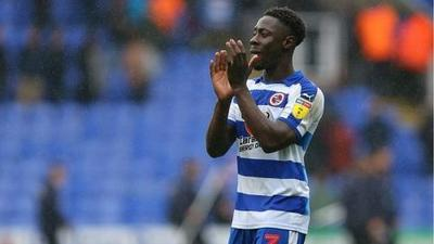 Andy Yiadom wins Reading fans Player of the Year award