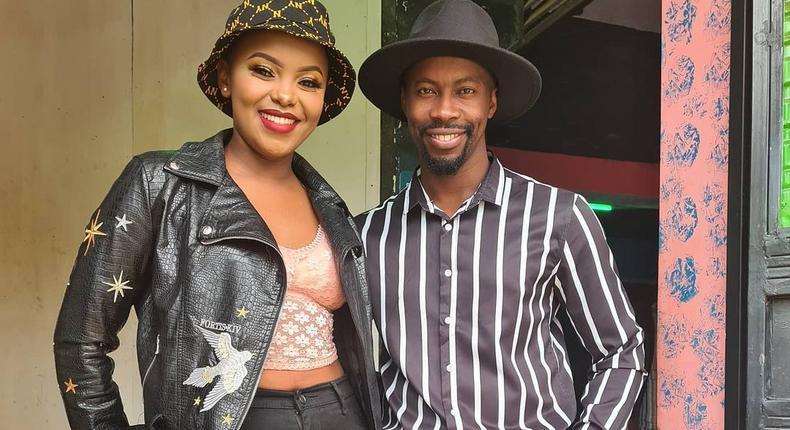 Actor Ronald Ndubi aka Victor Hausa and Dorea Chege alias Magie