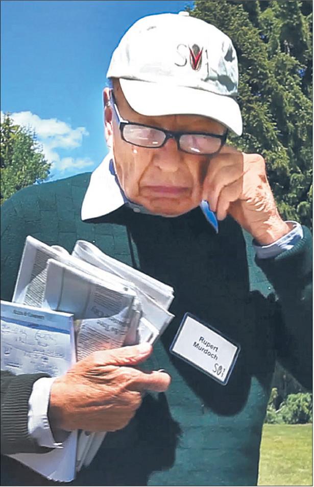 Rupert Murdoch musi odzyskać utracony wizerunek Fot. AP