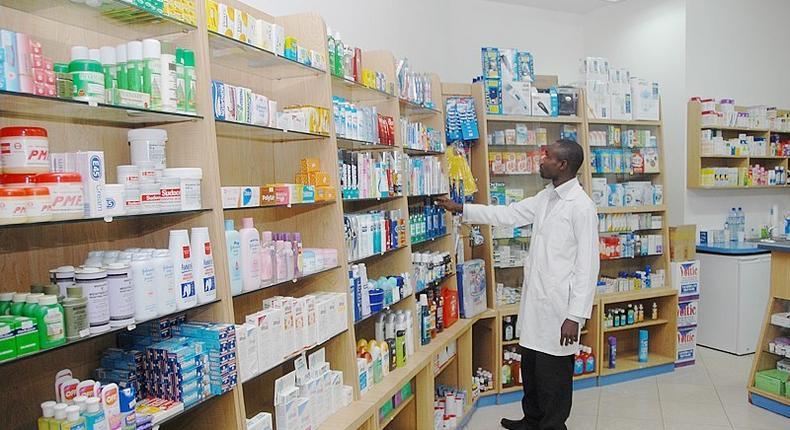 A Ghanaian Pharmacy