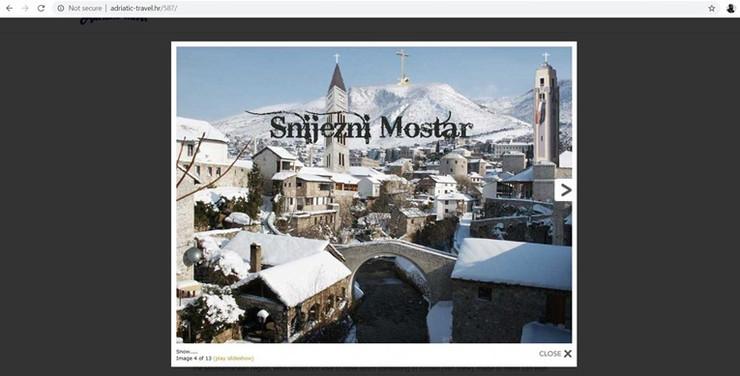 Fotošopiran Mostar