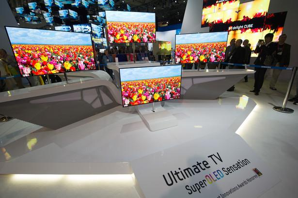 Na targach Consumer Electronic Show Samsung pokazał swoje najnowocześniejsze telewizory