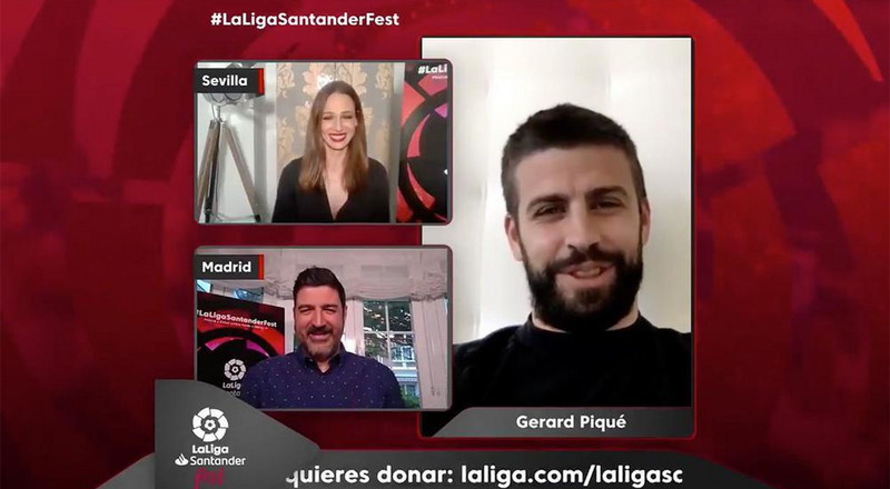 La Liga players lead 'LaLigaSantander Fest' where €1m and 1 million masks were raised for the fight against COVID-19