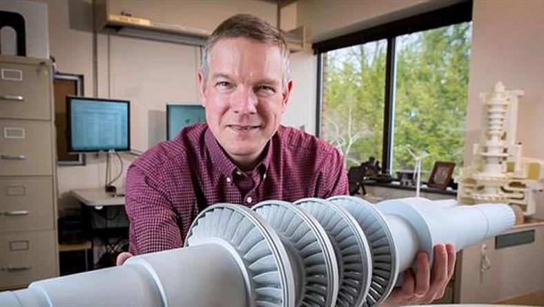 GE pokazuje prototyp turbiny z wydruku – może ona zasilić energią małe miasteczko