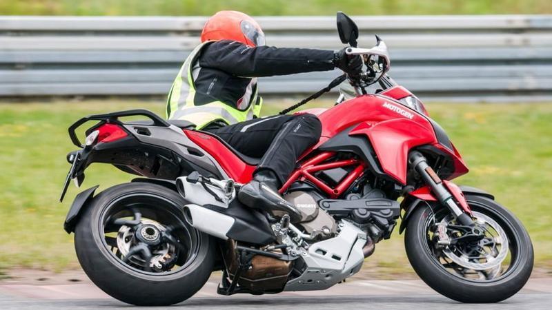Ducati Multistrada 1200 podczas naszego testu