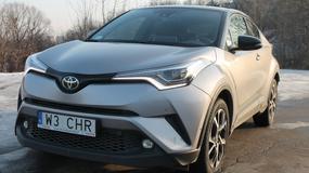 Toyota C-HR 1.2 Turbo – kontrowersyjna nowość | TEST