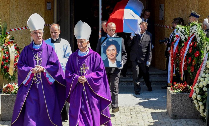 Pogrzeb Ireny Szewińskiej.