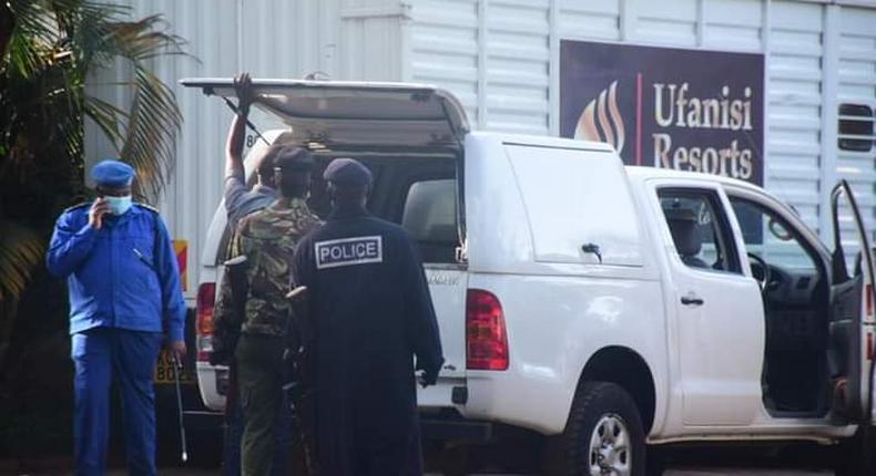 Police raids Ufanisi Resort hotel where ODM Secretary General Edwin Sifuna spent the night