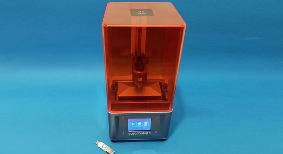 Elegoo Mars im Test: SLA-3D-Drucker zum Budgetpreis