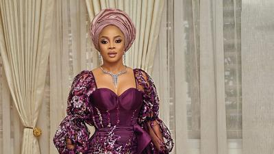 #Bae2020: Spot celebrities that came to slay as Emmanuel Ikubese and Anita Adetoye tie the knot traditionally