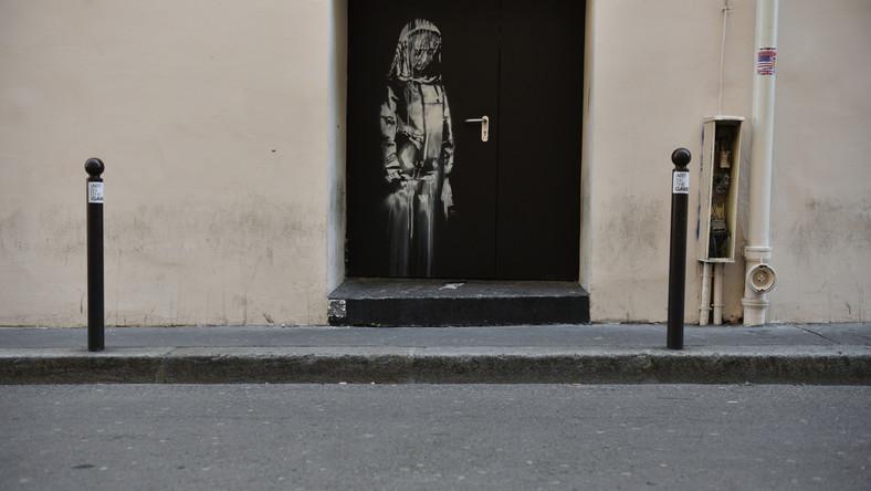 Zaginiona praca Banksy'ego