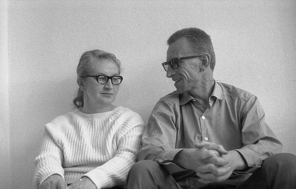 Oskar i Zofia Hansenowie, lata 70.