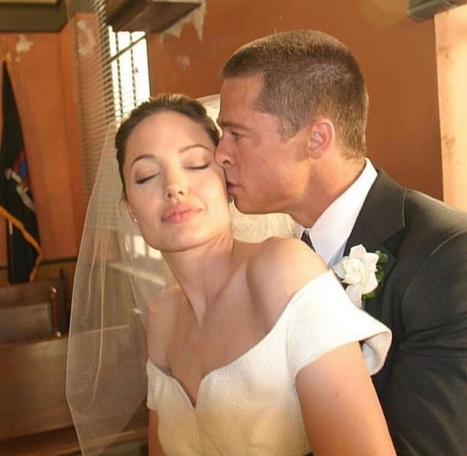 Anđelina Džoli i Bred Pit u danima ljubavi