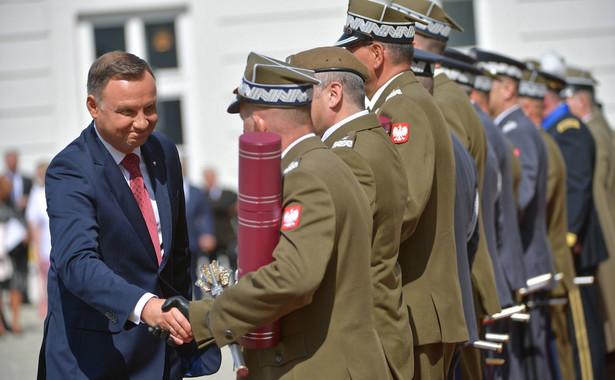 Prezydent Andrzej Duda i minister obrony narodowej Mariusz Błaszczak przebywają z wizytą w Australii.