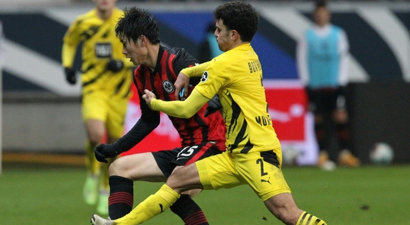Dortmund drop more points with draw at Frankfurt